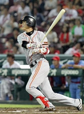 若くして巨人の顔に成長した坂本勇人選手。
