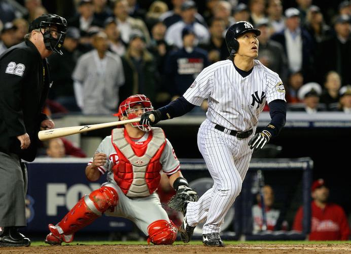 ヤンキース時代の松井秀喜