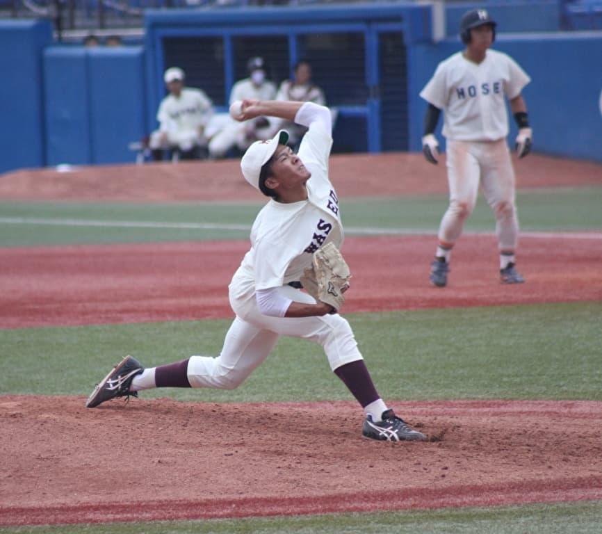 2020年のドラフトの目玉候補の早稲田大の早川隆久投手。